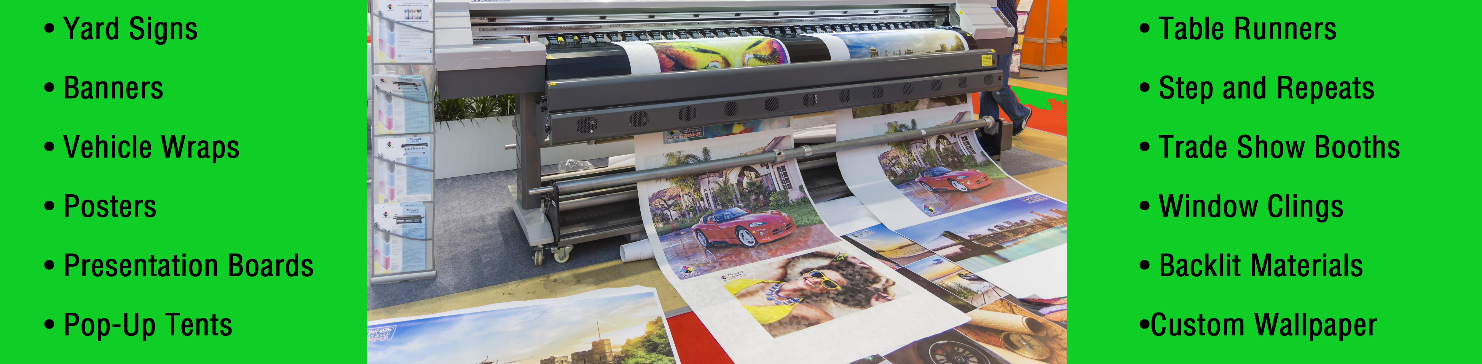 Tips to Know About Large Format Printing