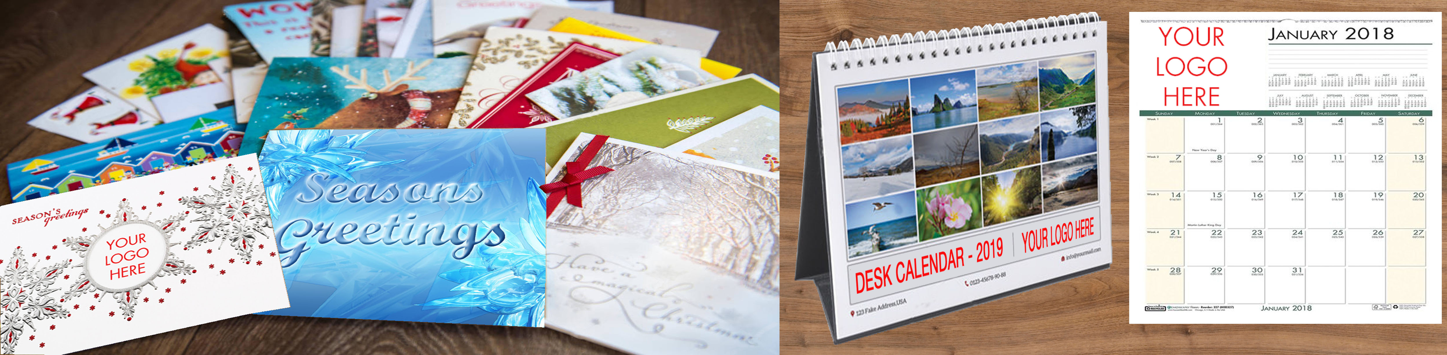 Holiday Cards and Calendars are Great to Start in the Summer